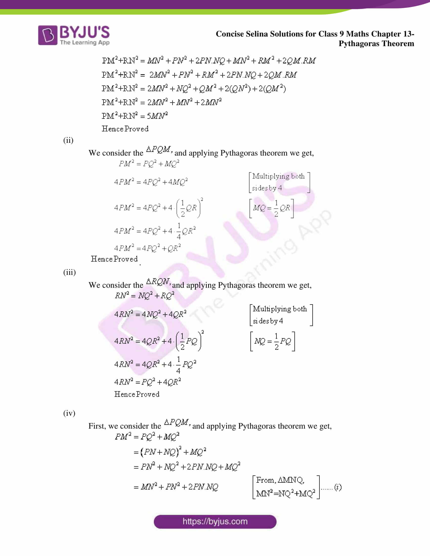 selina Solutions for Class 9 Maths Chapter 13 part 13