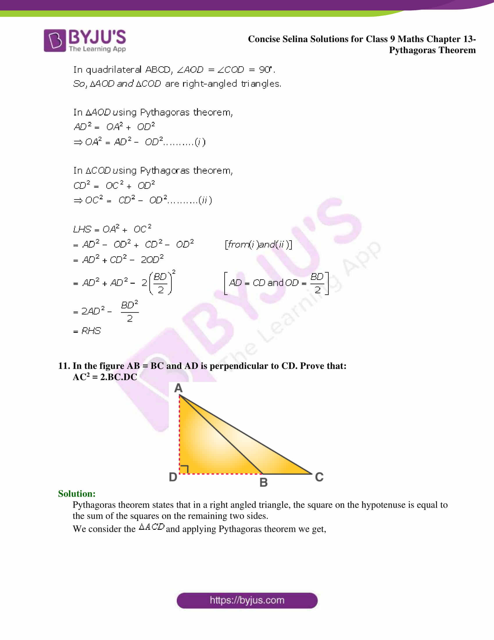 selina Solutions for Class 9 Maths Chapter 13 part 19