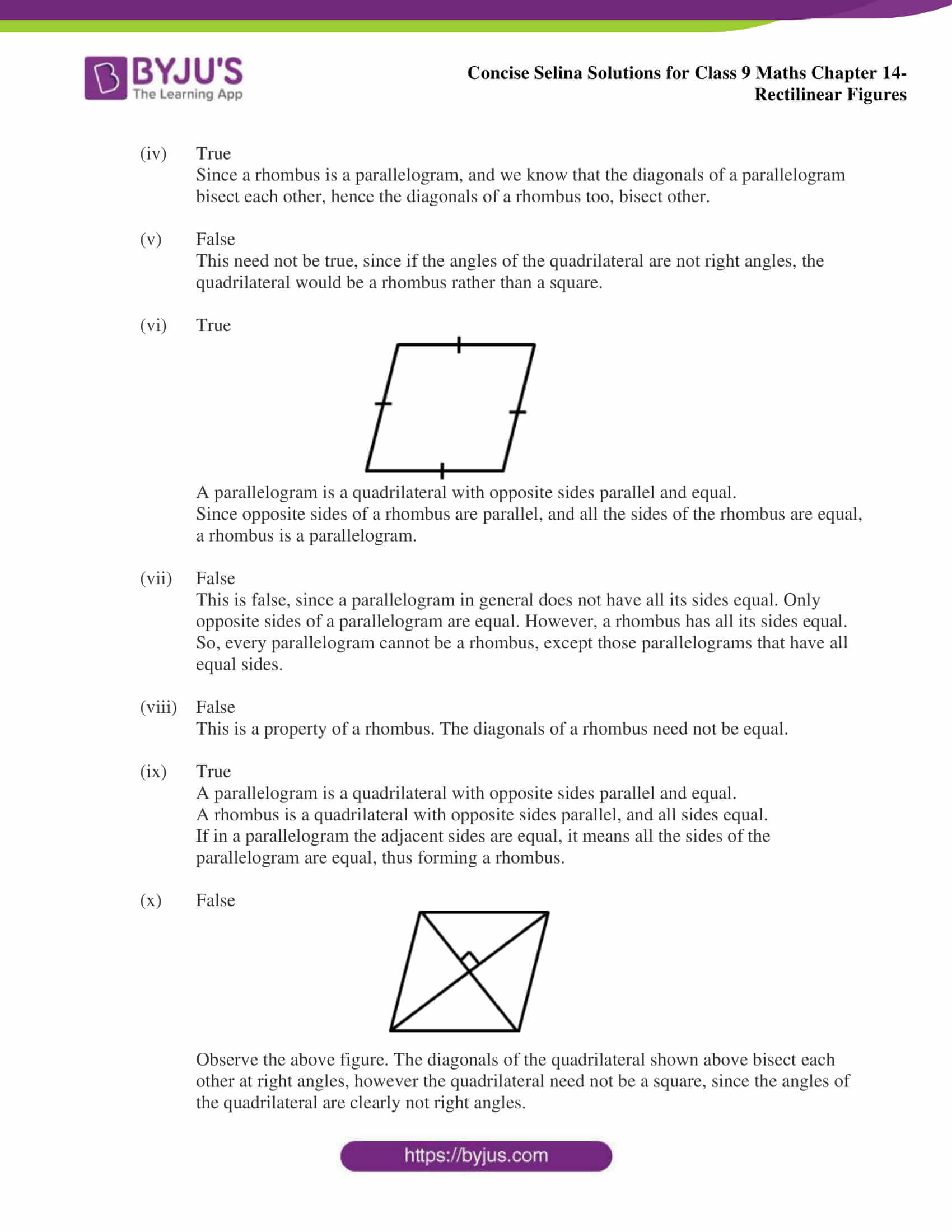 selina Solutions for Class 9 Maths Chapter 14 part 07
