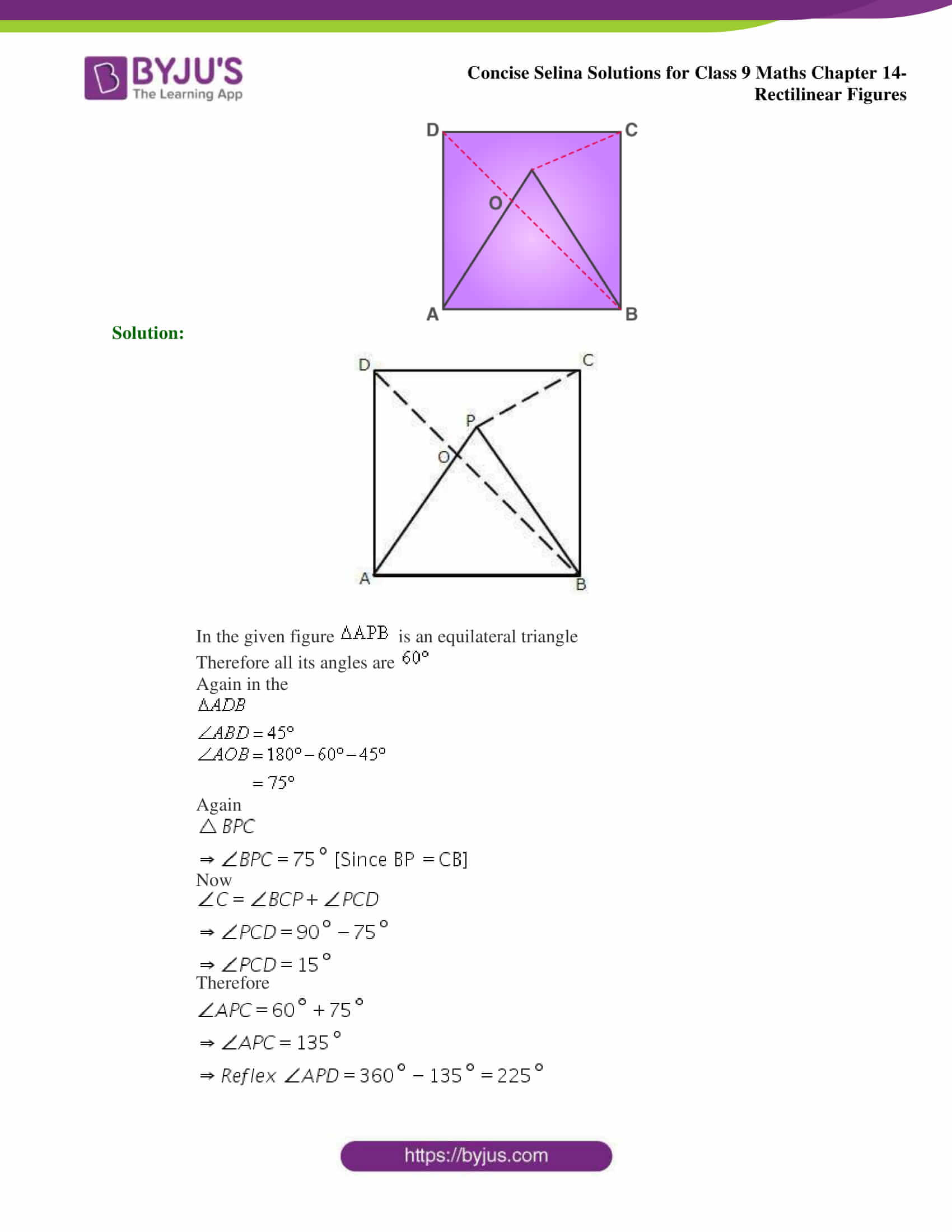 selina Solutions for Class 9 Maths Chapter 14 part 11