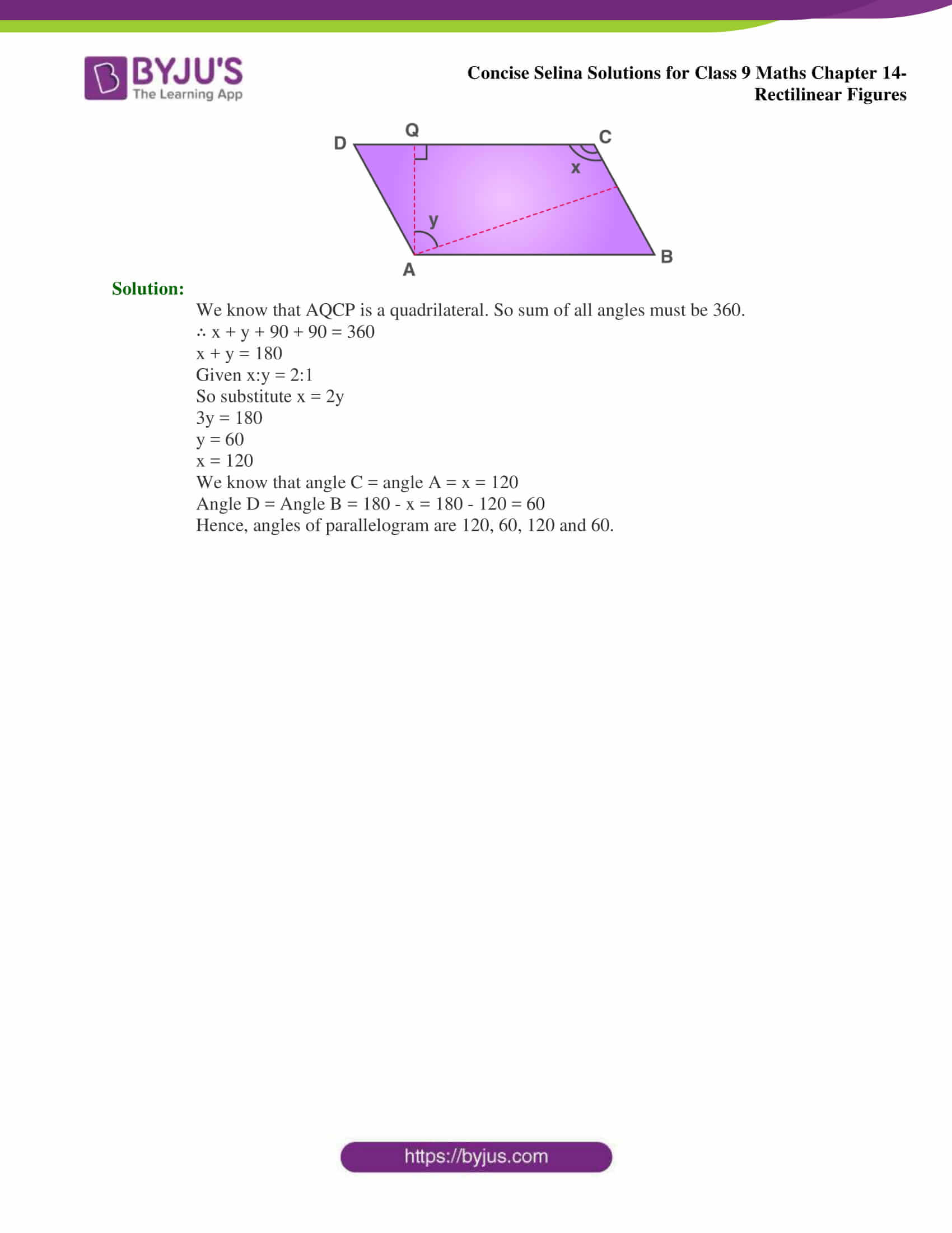 selina Solutions for Class 9 Maths Chapter 14 part 16