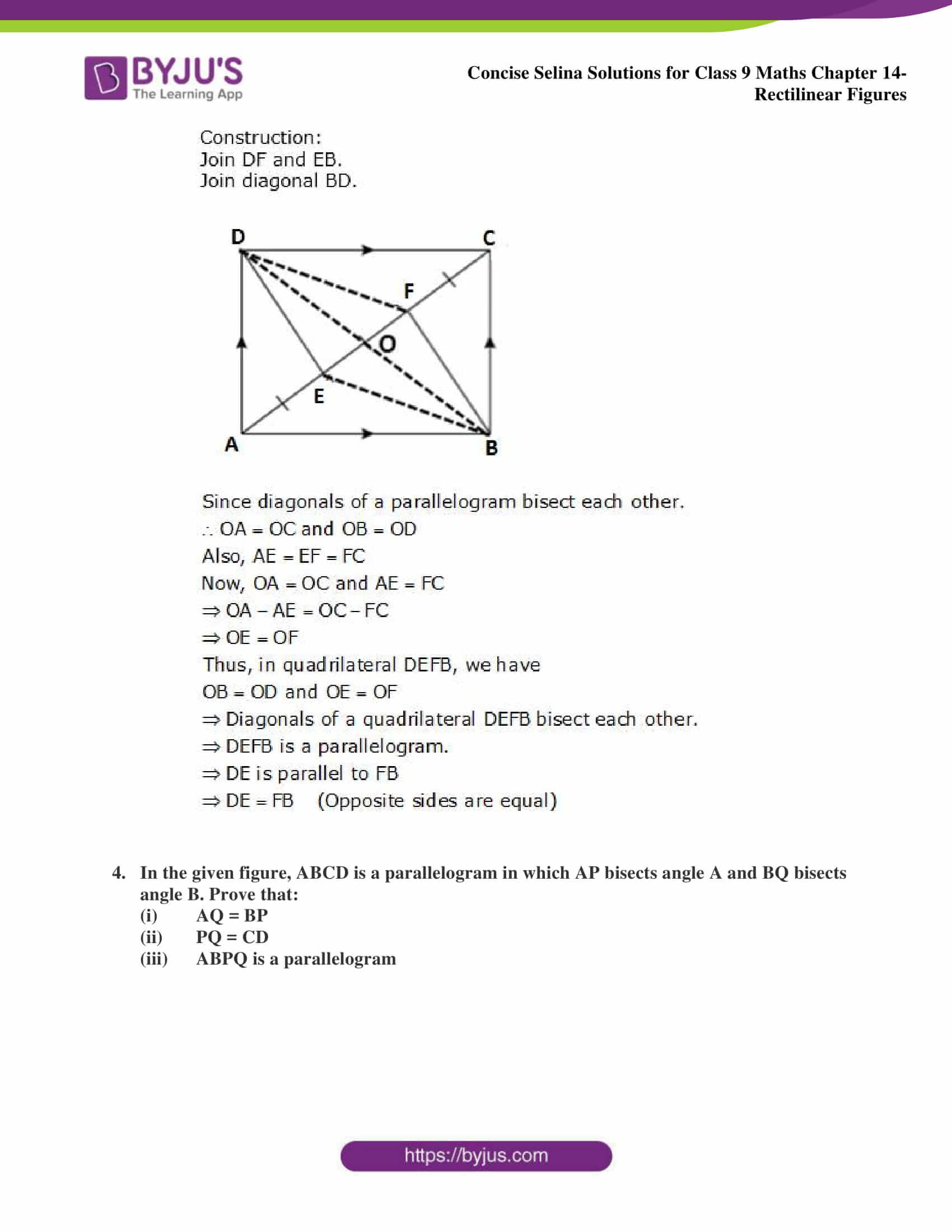 selina Solutions for Class 9 Maths Chapter 14 part 19