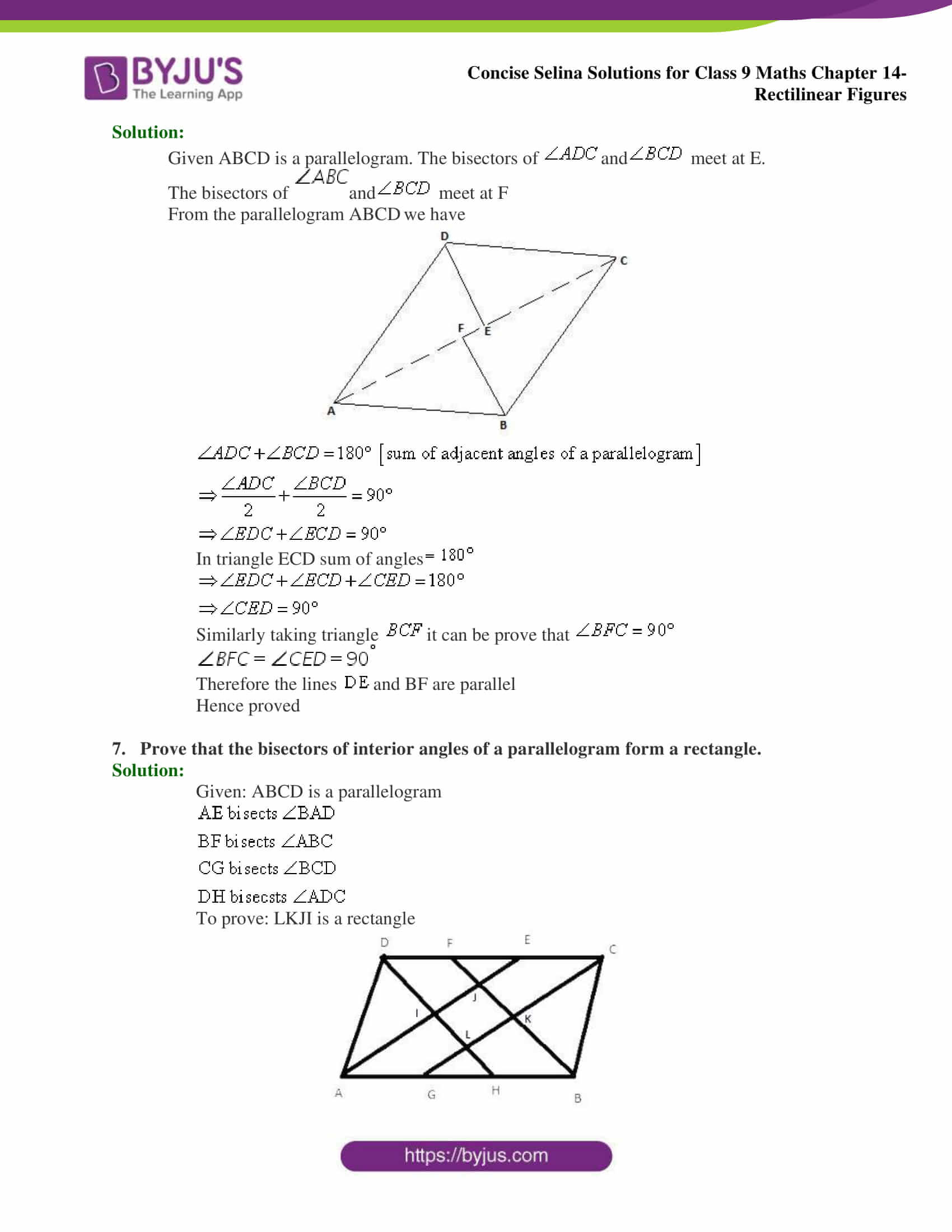 selina Solutions for Class 9 Maths Chapter 14 part 22