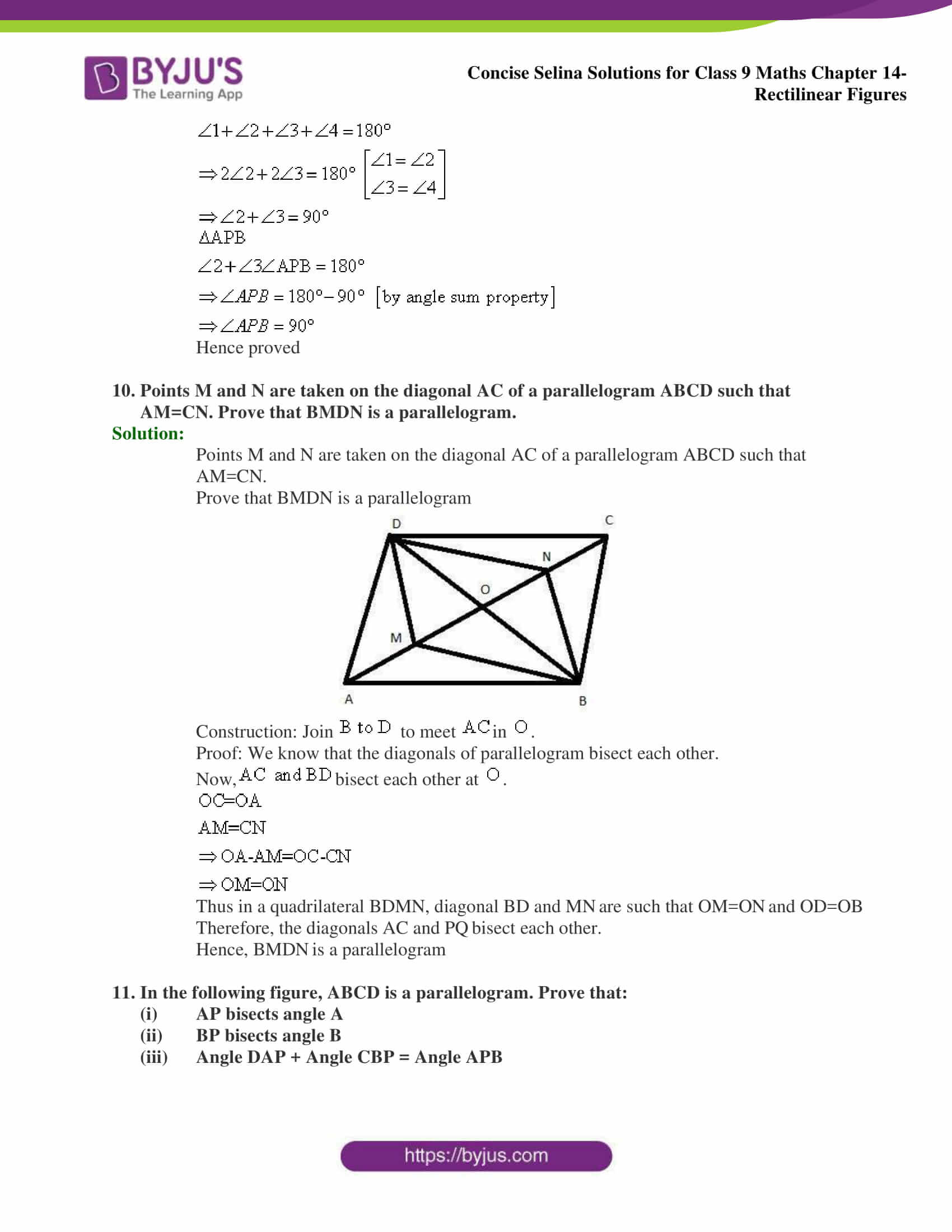 selina Solutions for Class 9 Maths Chapter 14 part 25