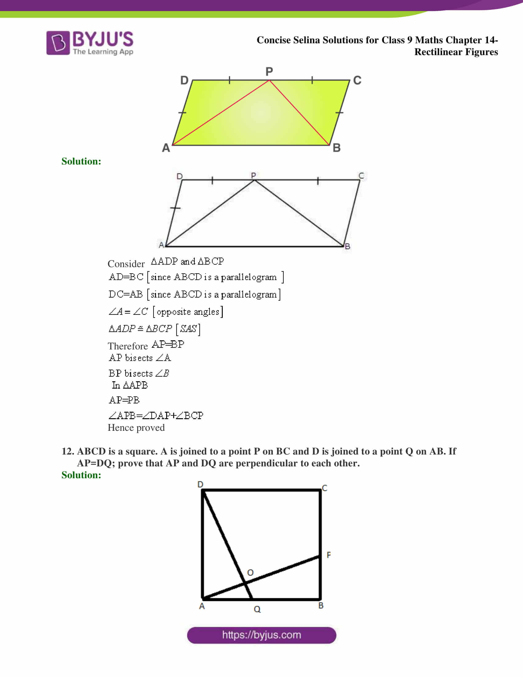 selina Solutions for Class 9 Maths Chapter 14 part 26