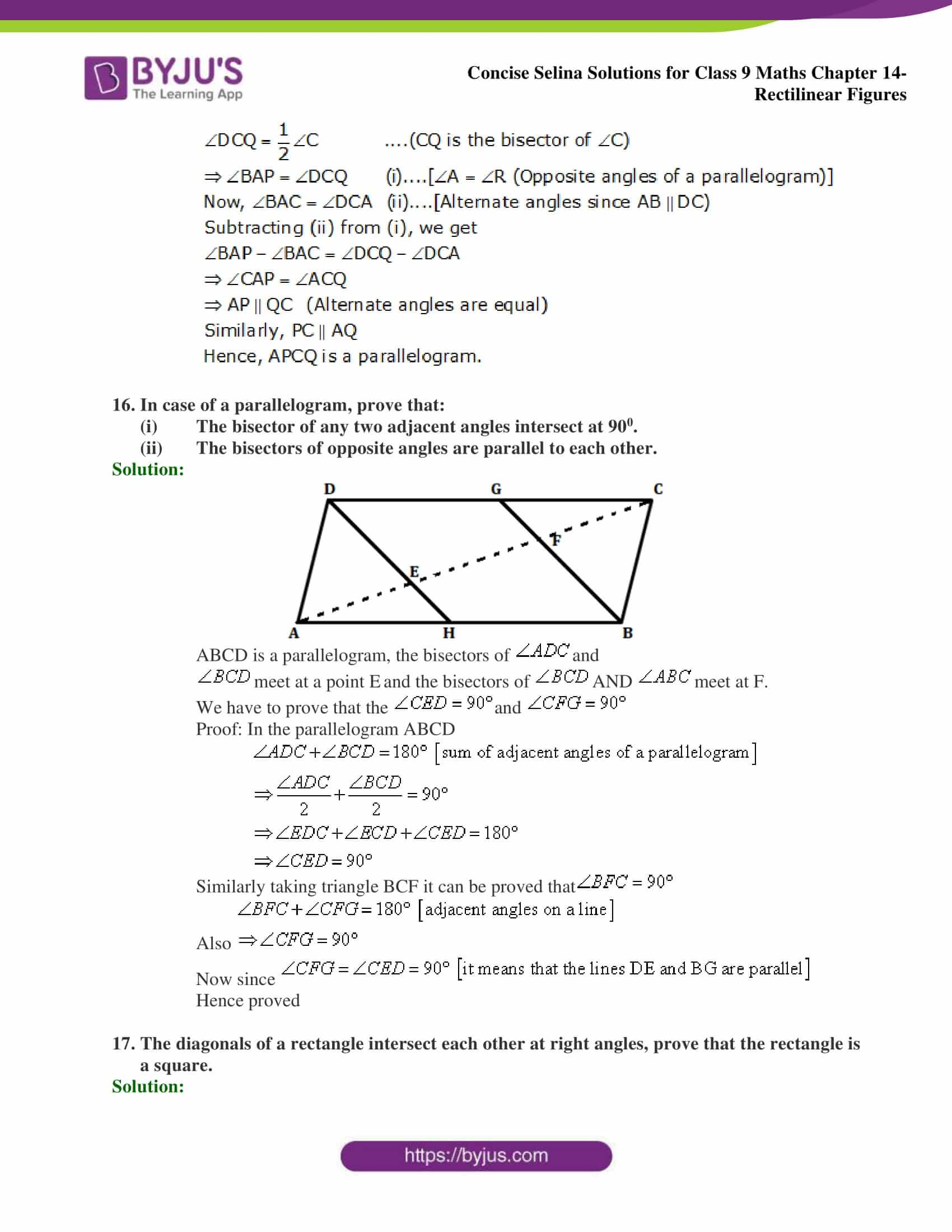 selina Solutions for Class 9 Maths Chapter 14 part 30