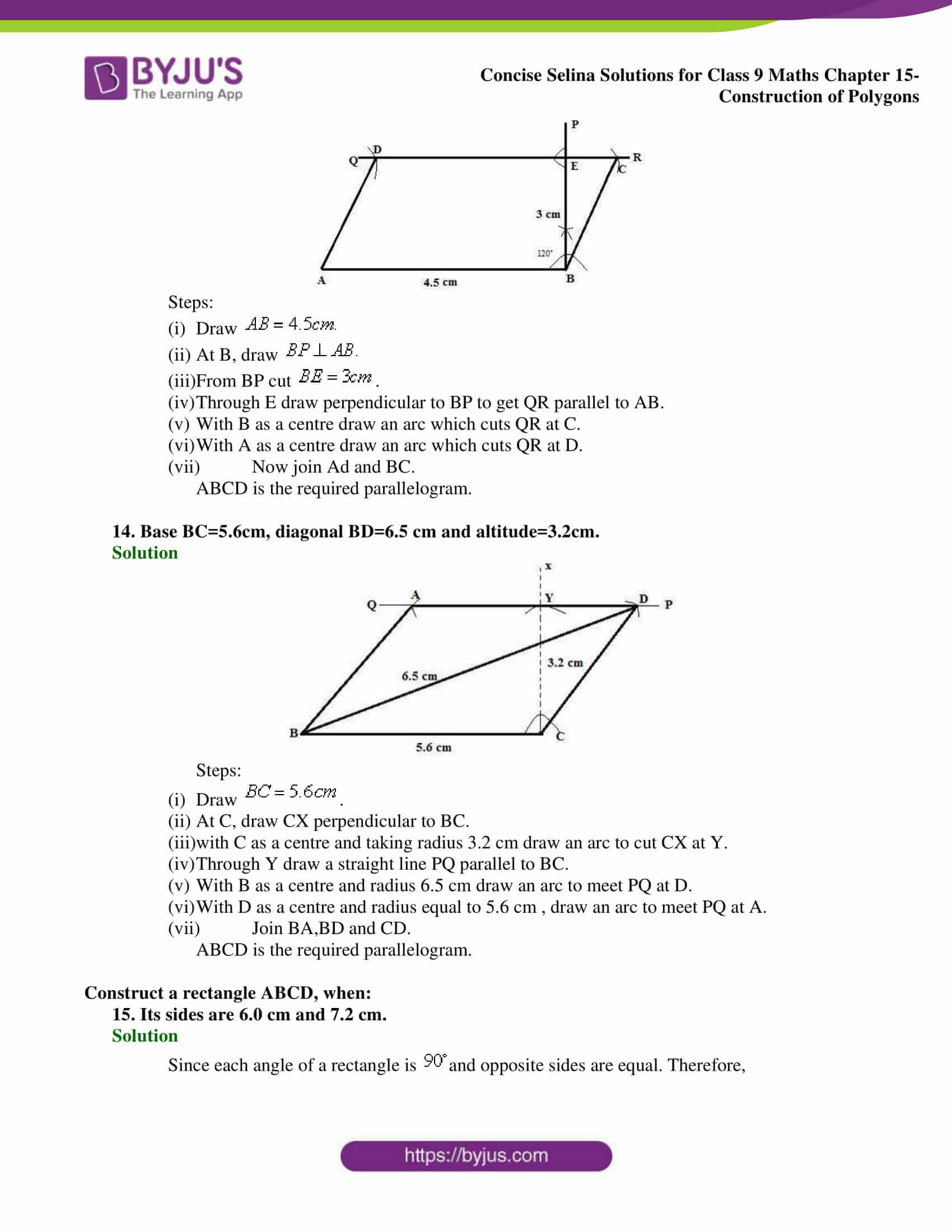 selina Solutions for Class 9 Maths Chapter 15 part 07