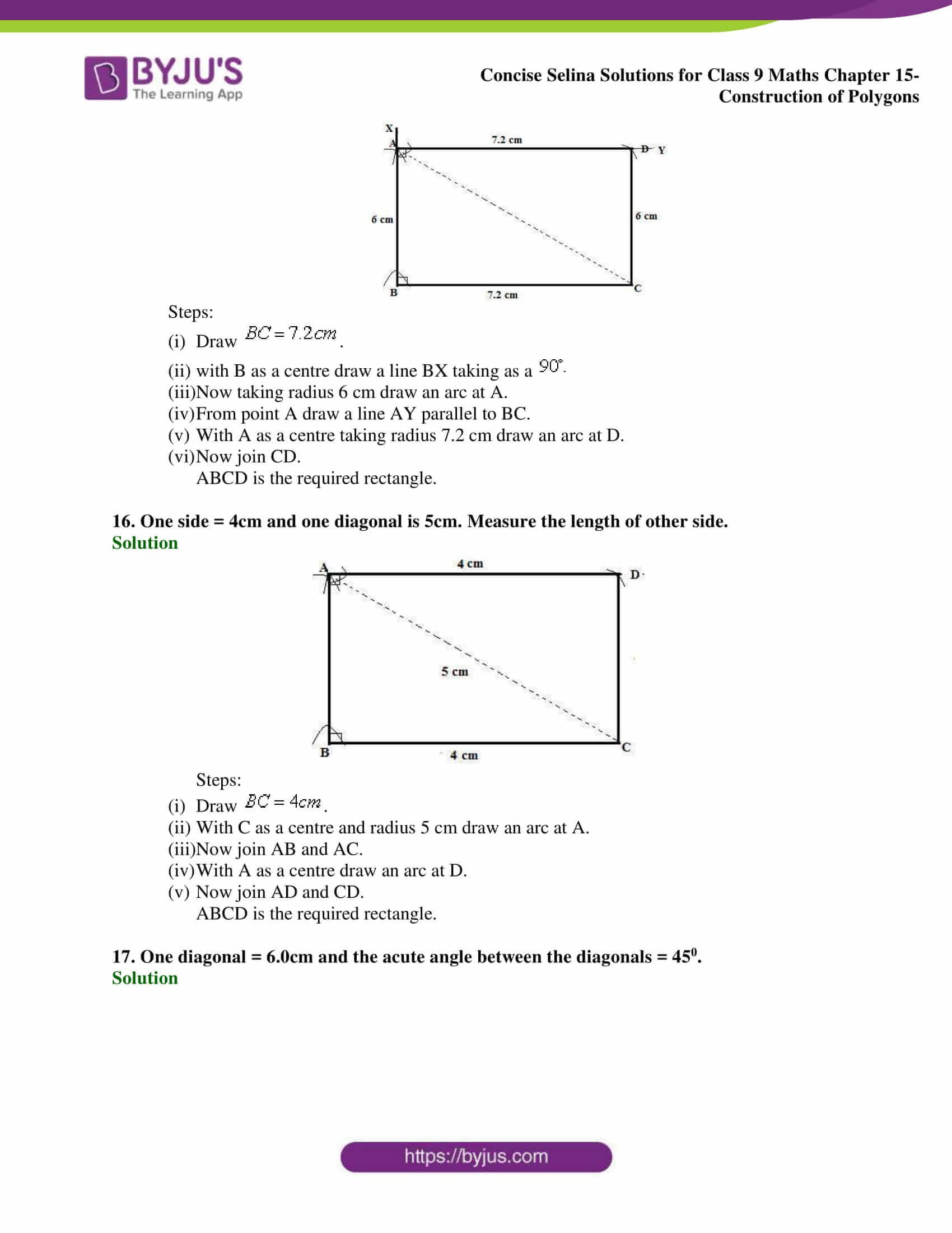 selina Solutions for Class 9 Maths Chapter 15 part 08