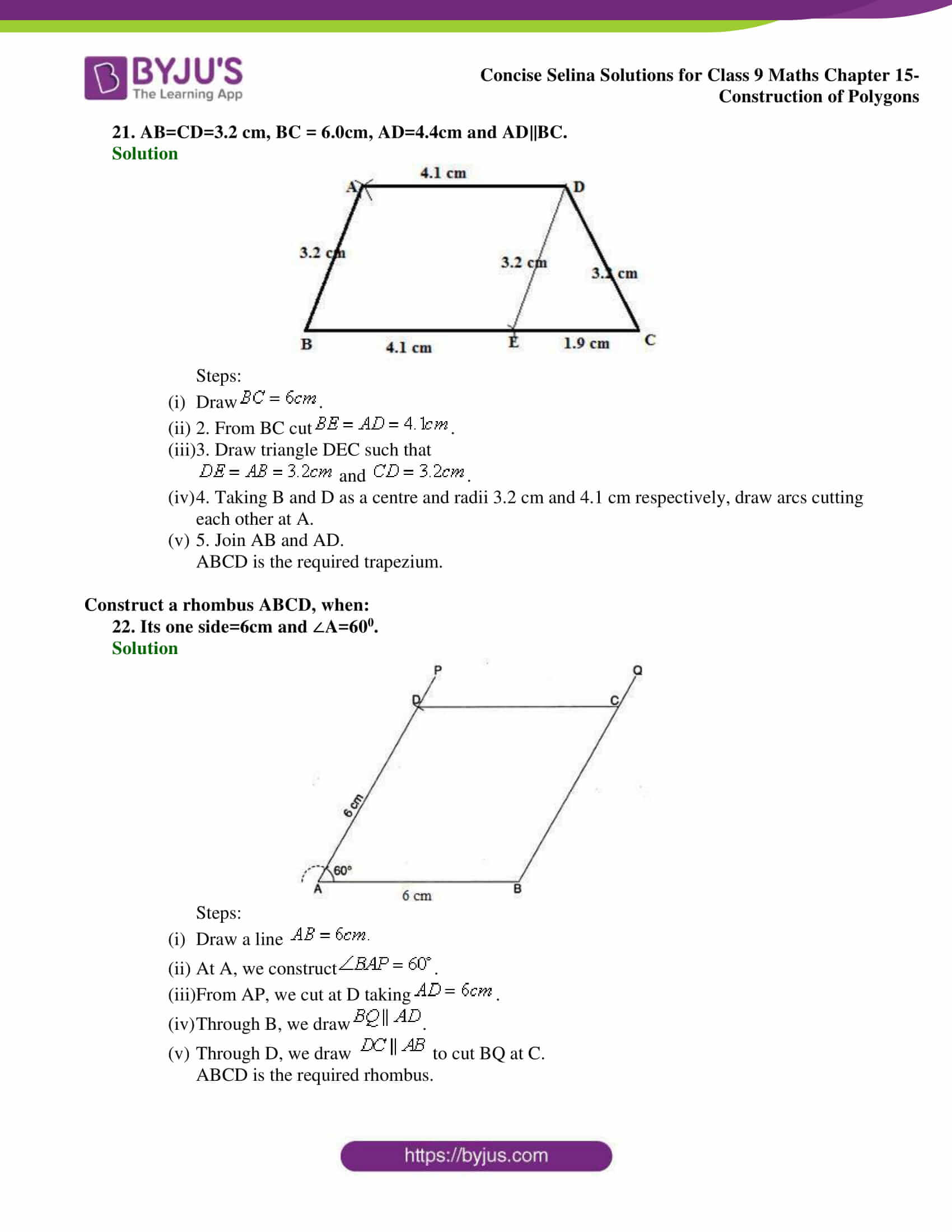 selina Solutions for Class 9 Maths Chapter 15 part 11