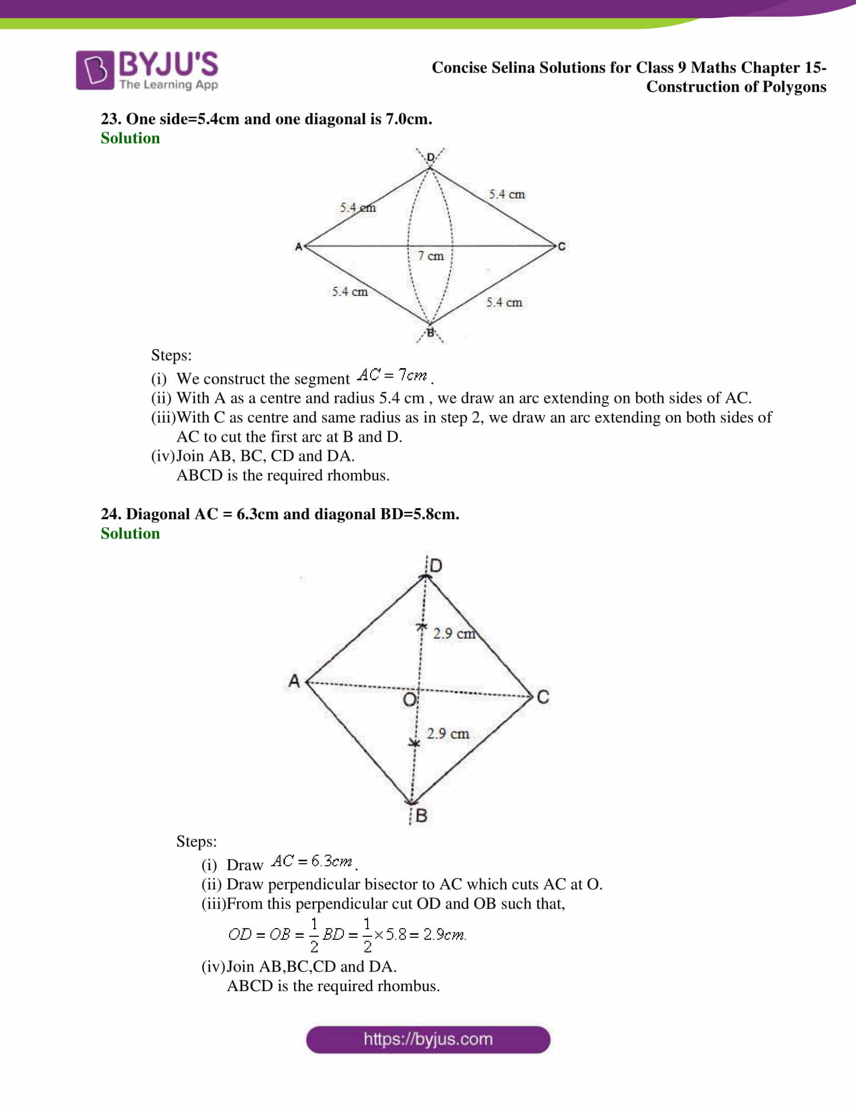 selina Solutions for Class 9 Maths Chapter 15 part 12