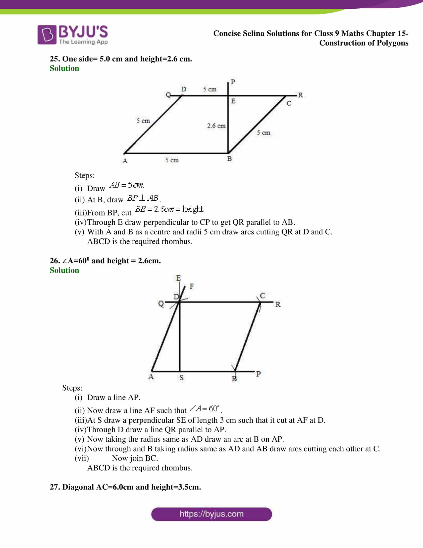 selina Solutions for Class 9 Maths Chapter 15 part 13