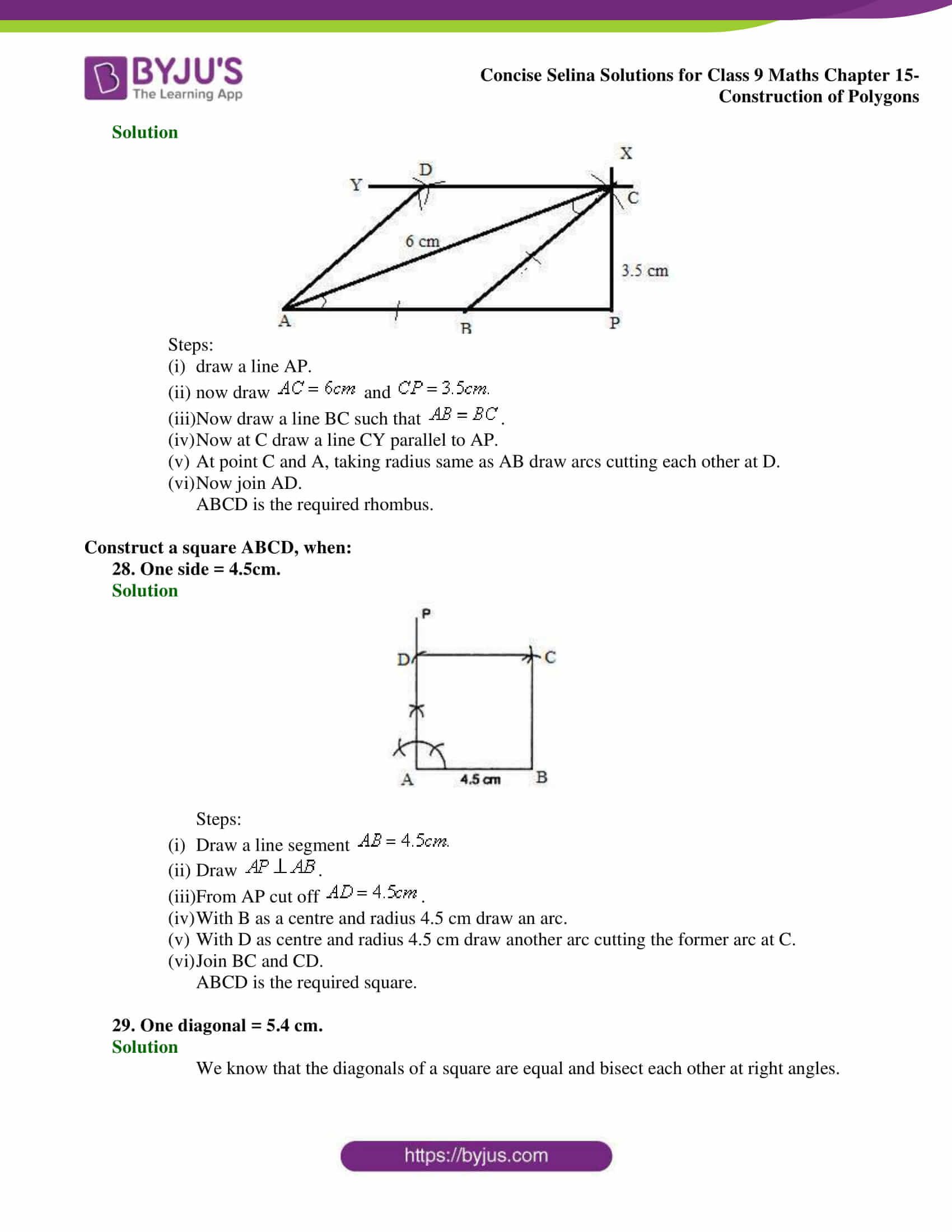 selina Solutions for Class 9 Maths Chapter 15 part 14