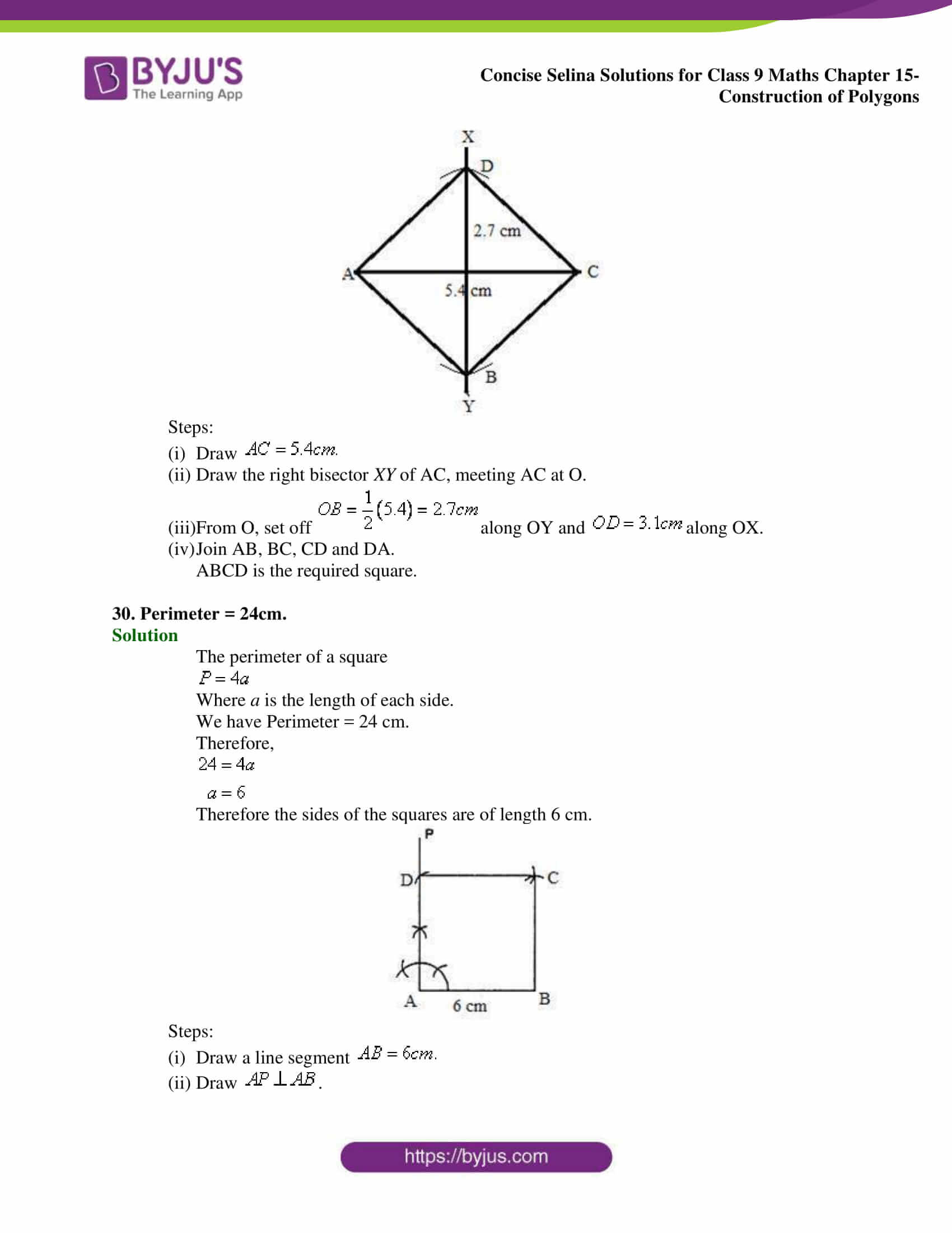 selina Solutions for Class 9 Maths Chapter 15 part 15