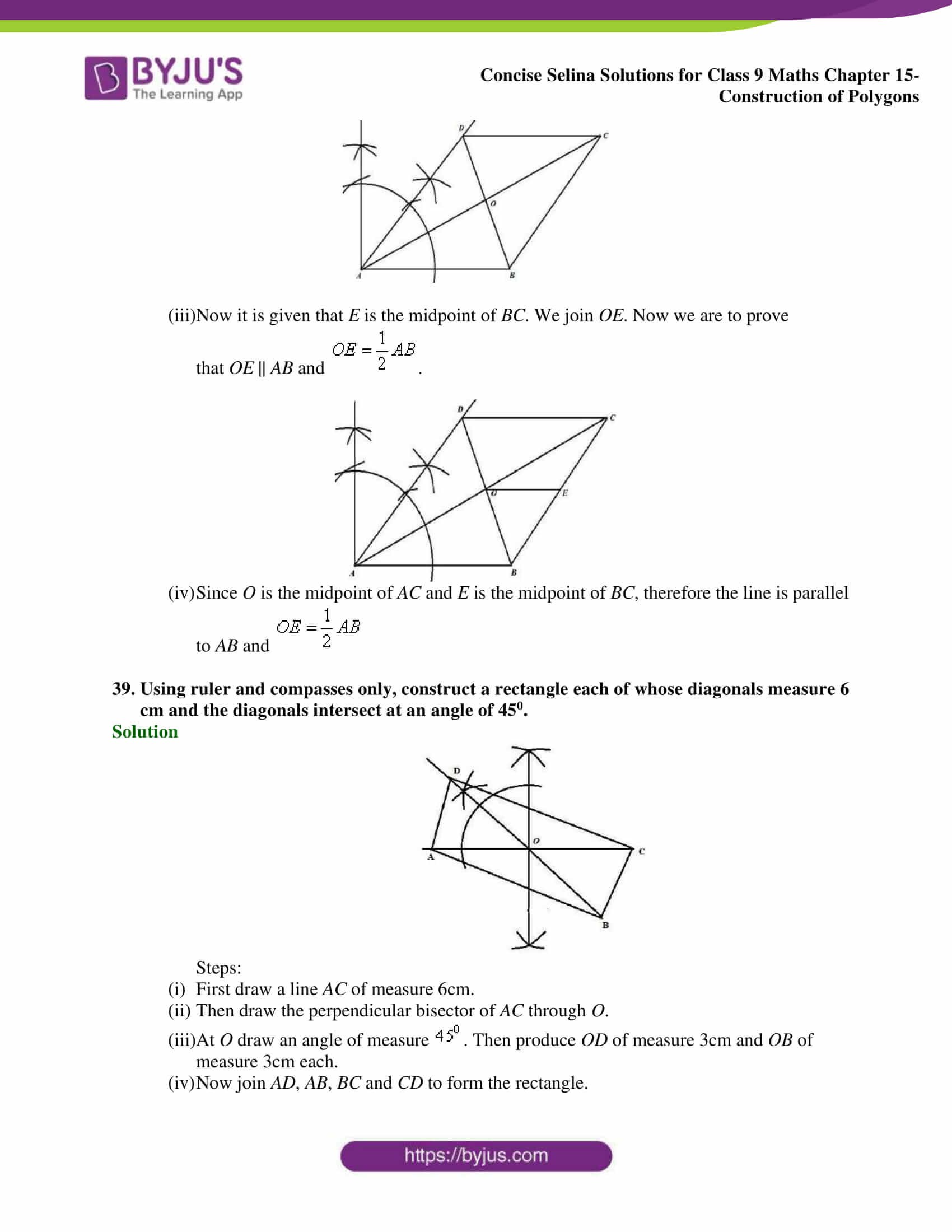 selina Solutions for Class 9 Maths Chapter 15 part 21