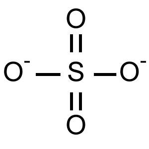 Sulphate Ion