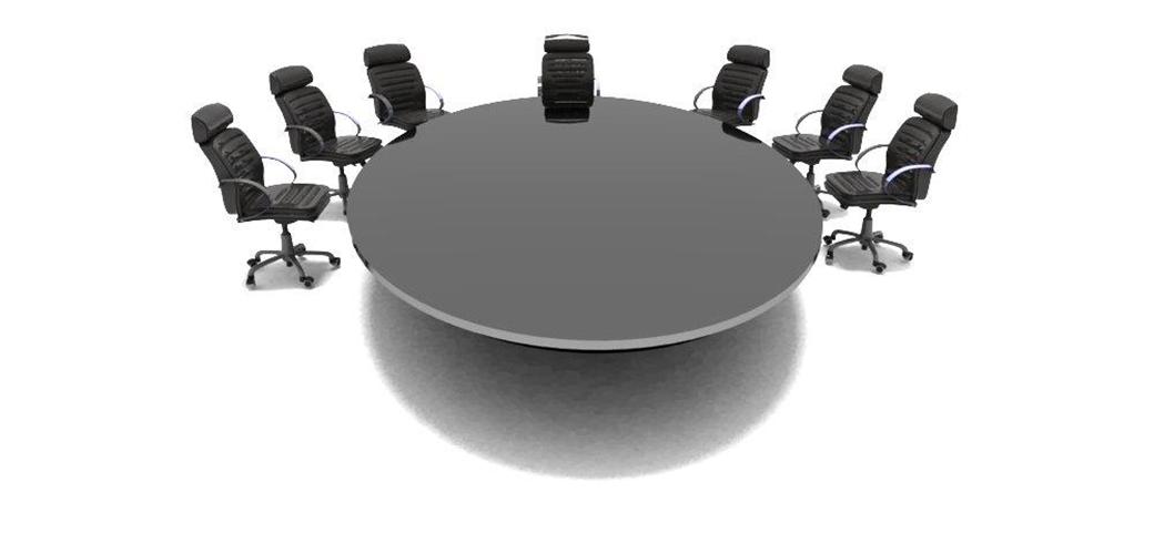 Basic representation of seating arrangement