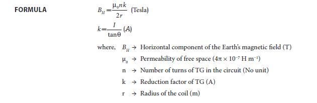 Experiment 2 Formula