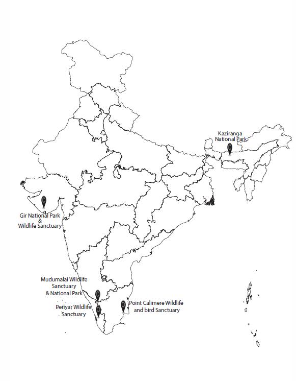 Experiment 3 India Map