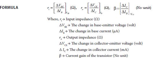 Experiment 8 Formula
