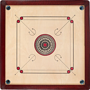 General placement of carrom board