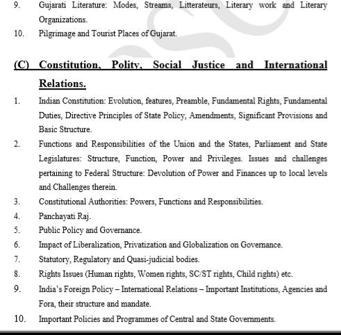 GPSC syllabus - GS Paper - 1 Prelims (3)