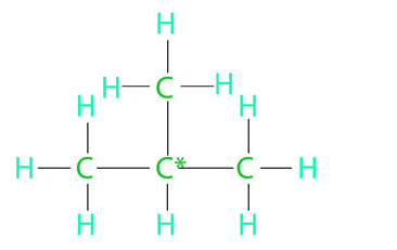 Isobutane or 2 - Methylpropane
