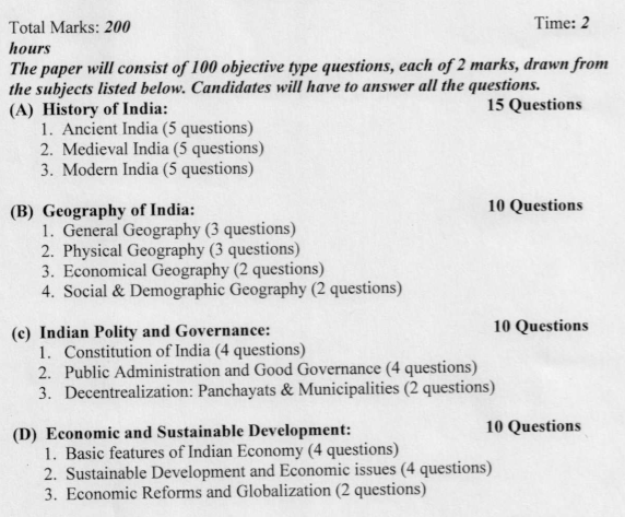 JPSC Syllabus Prelims General Studies Paper 1 (1)