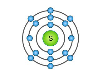 Sulphur atom