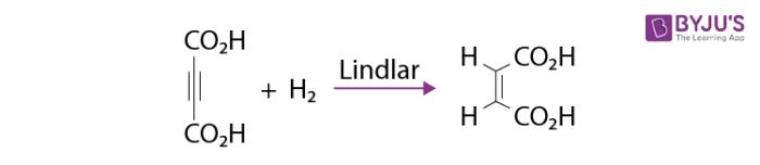 Catalytic Action of Lindlar Catalyst