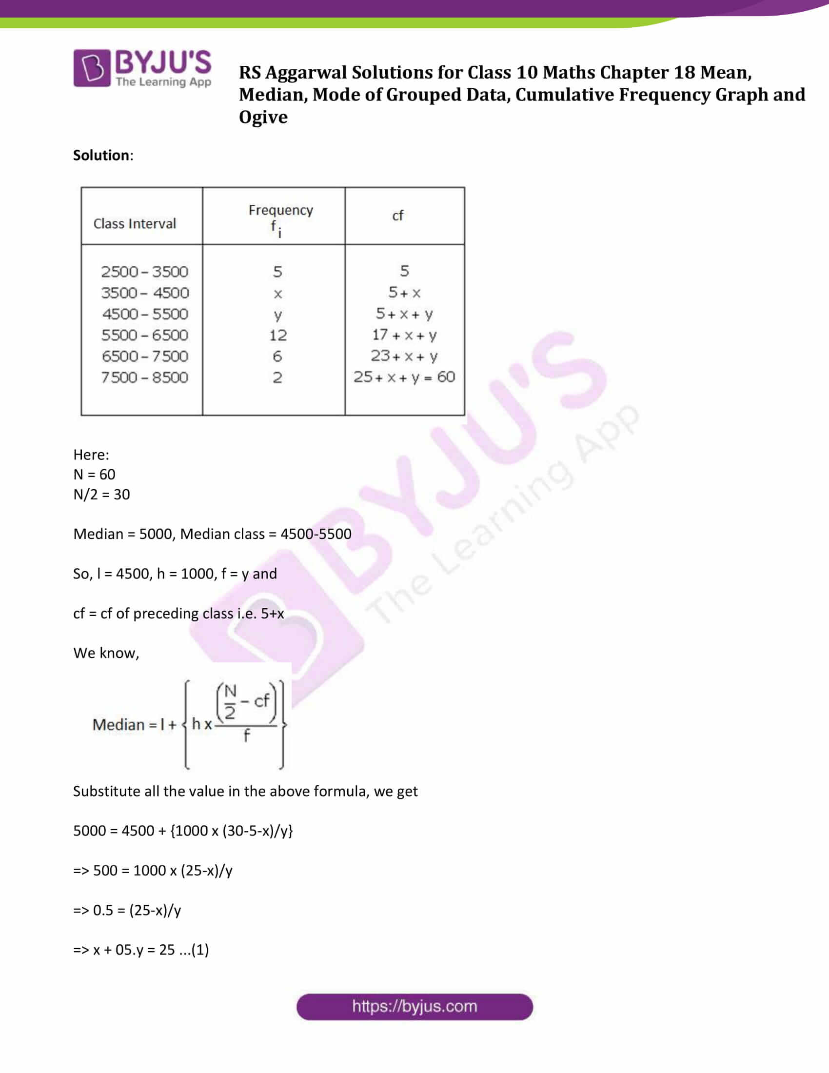 rs aggarwal sol class 10 maths chapter 18b