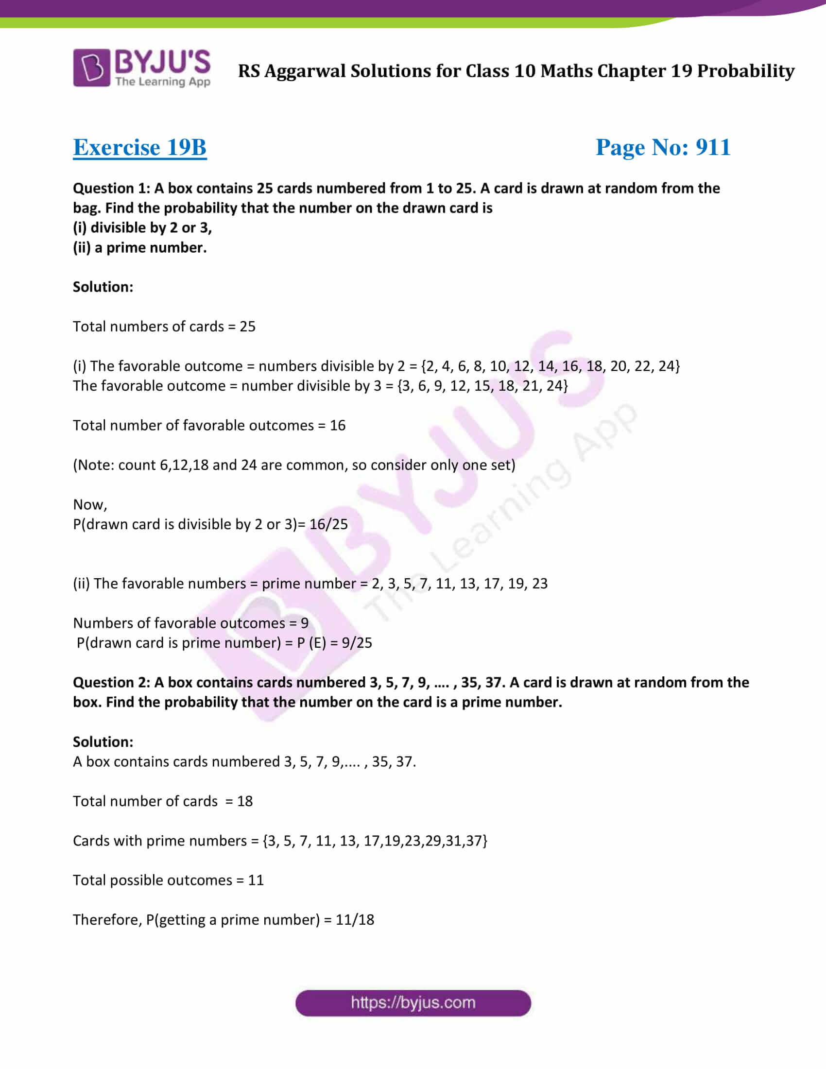 rs aggarwal sol class 10 maths chapter 19b