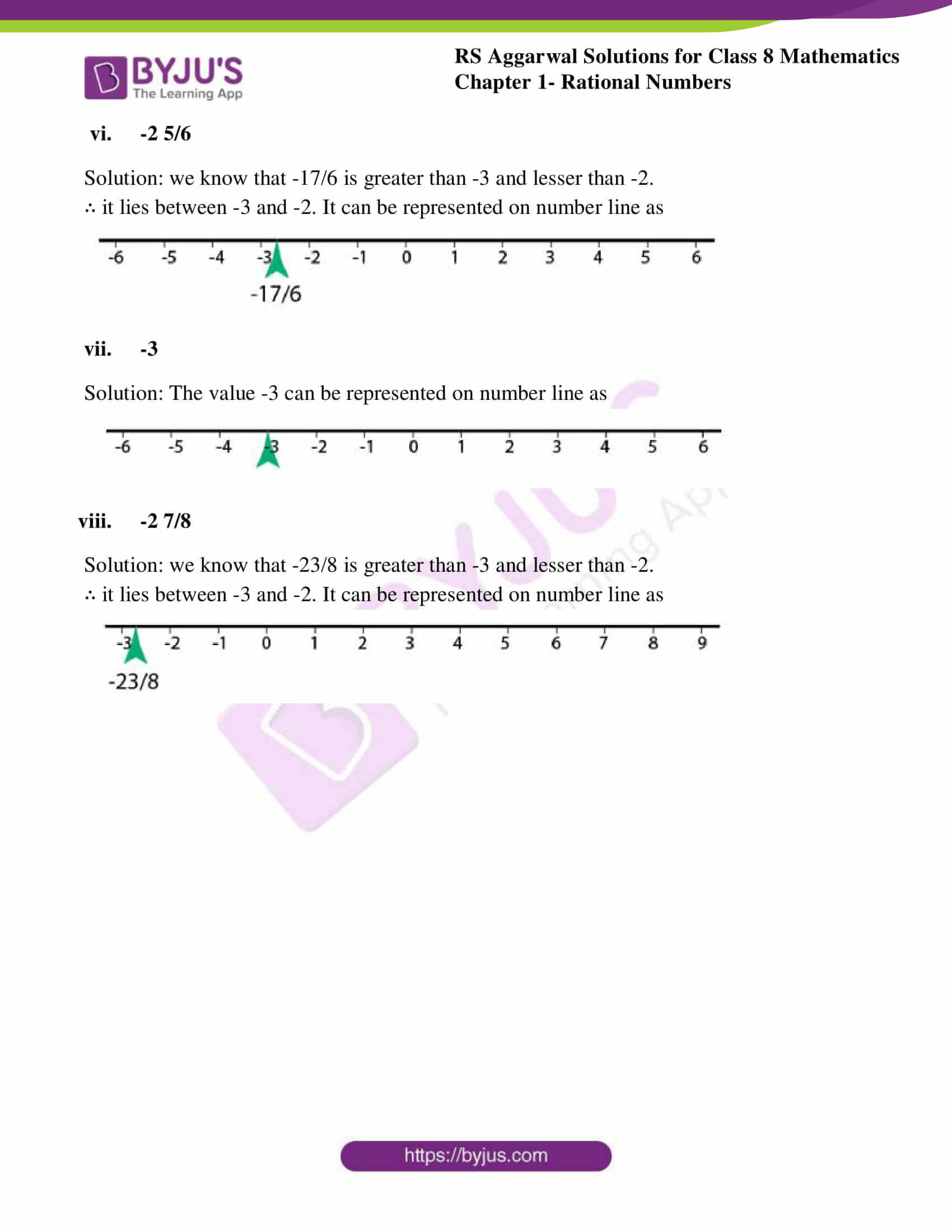 rs aggarwal solutions class 8 maths chapter 1b