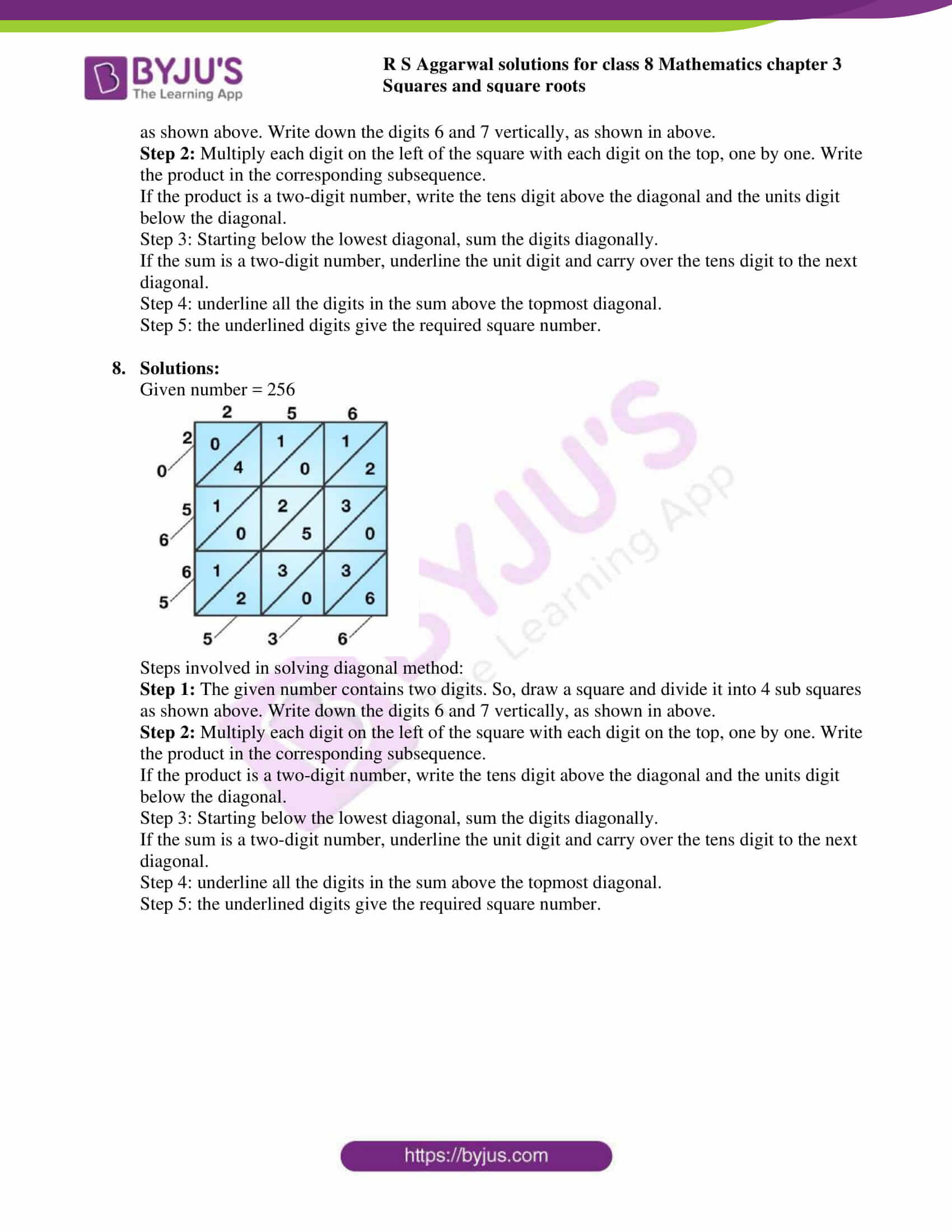 rs aggarwal solutions class 8 maths chapter 3c