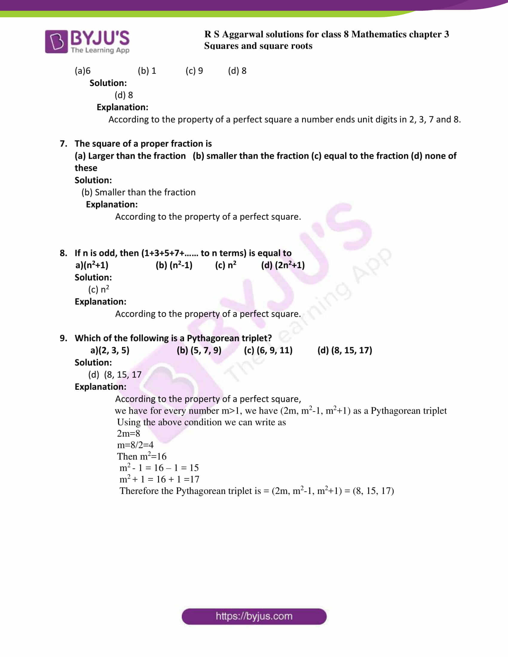 rs aggarwal solutions class 8 maths chapter 3h