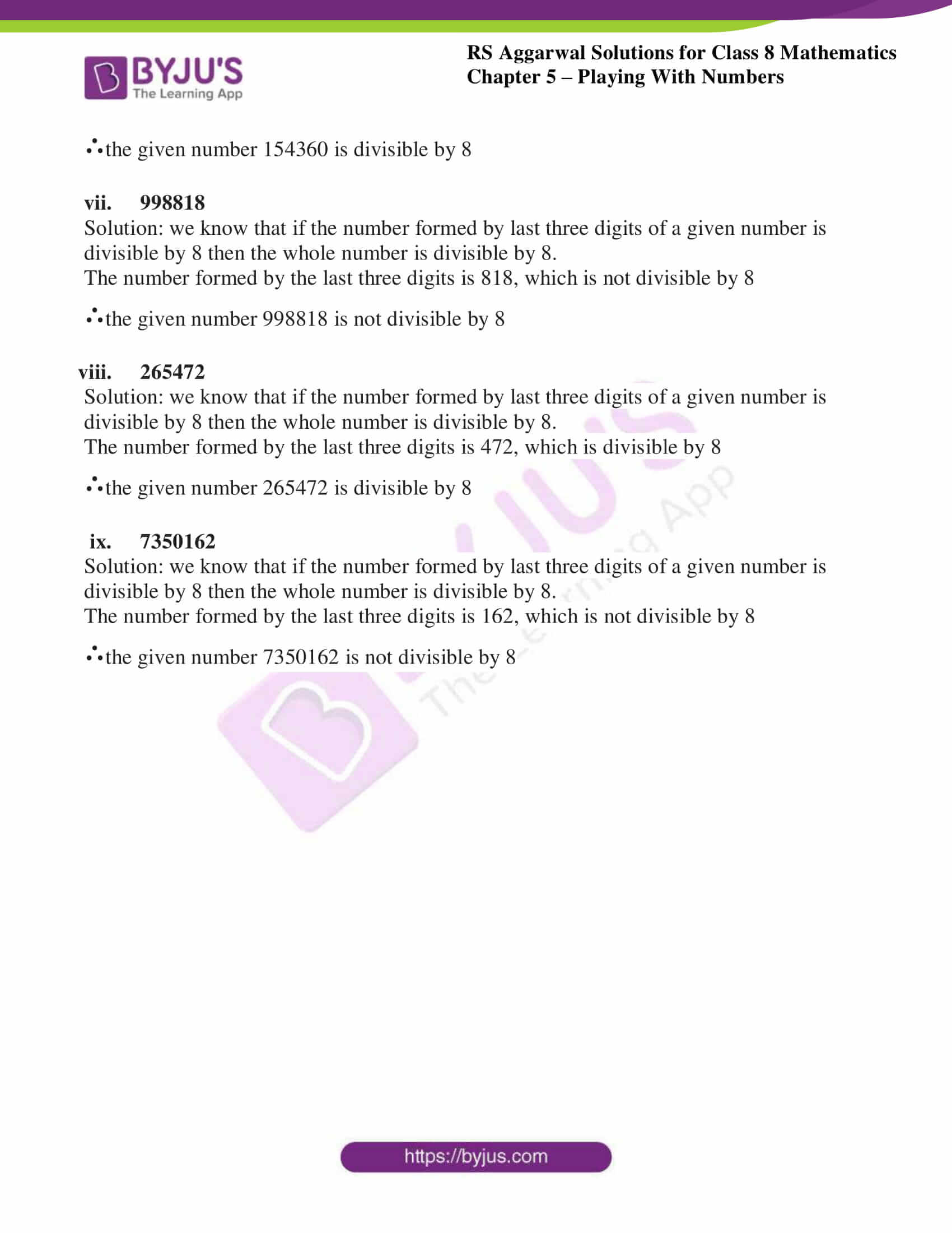 rs aggarwal solutions class 8 maths chapter 5b