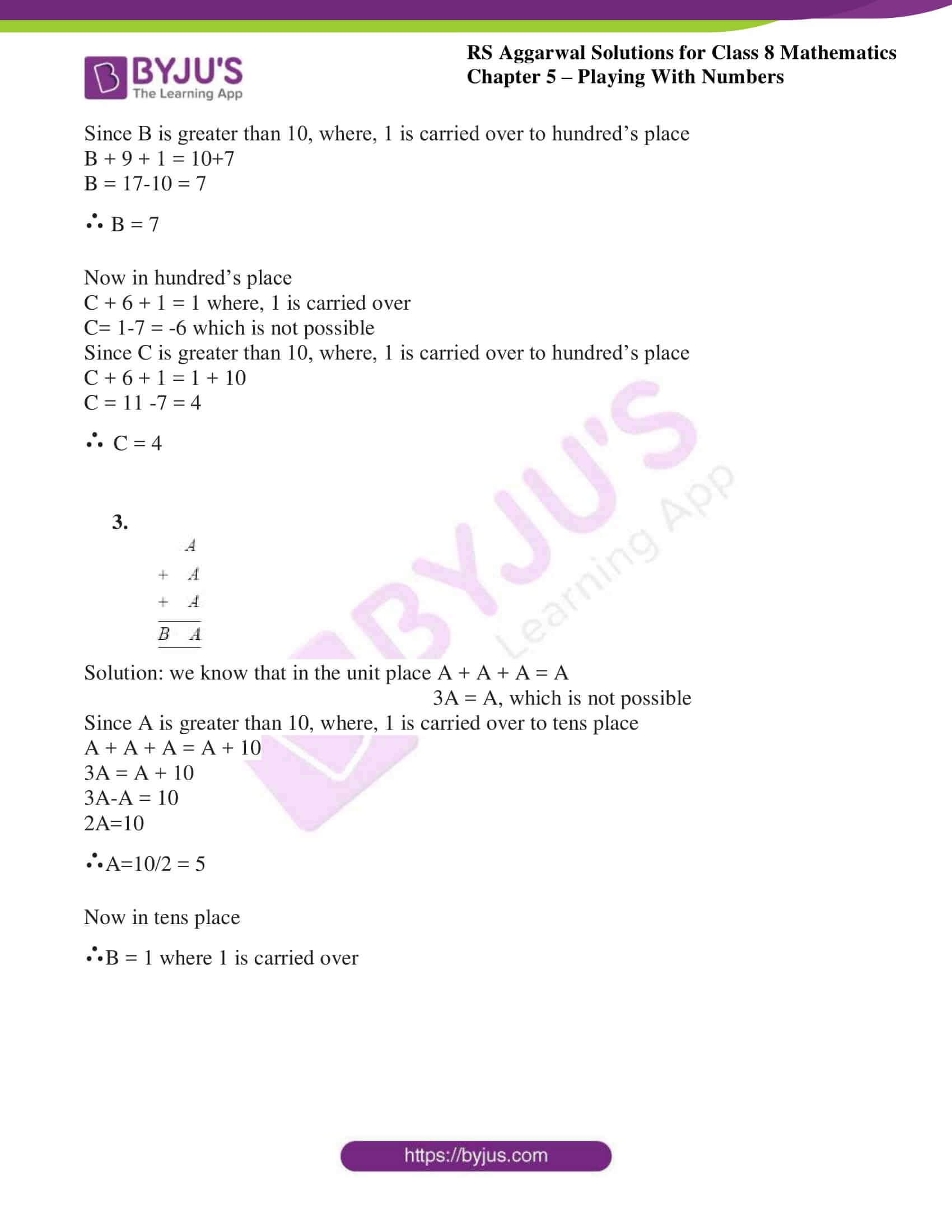 rs aggarwal solutions class 8 maths chapter 5c