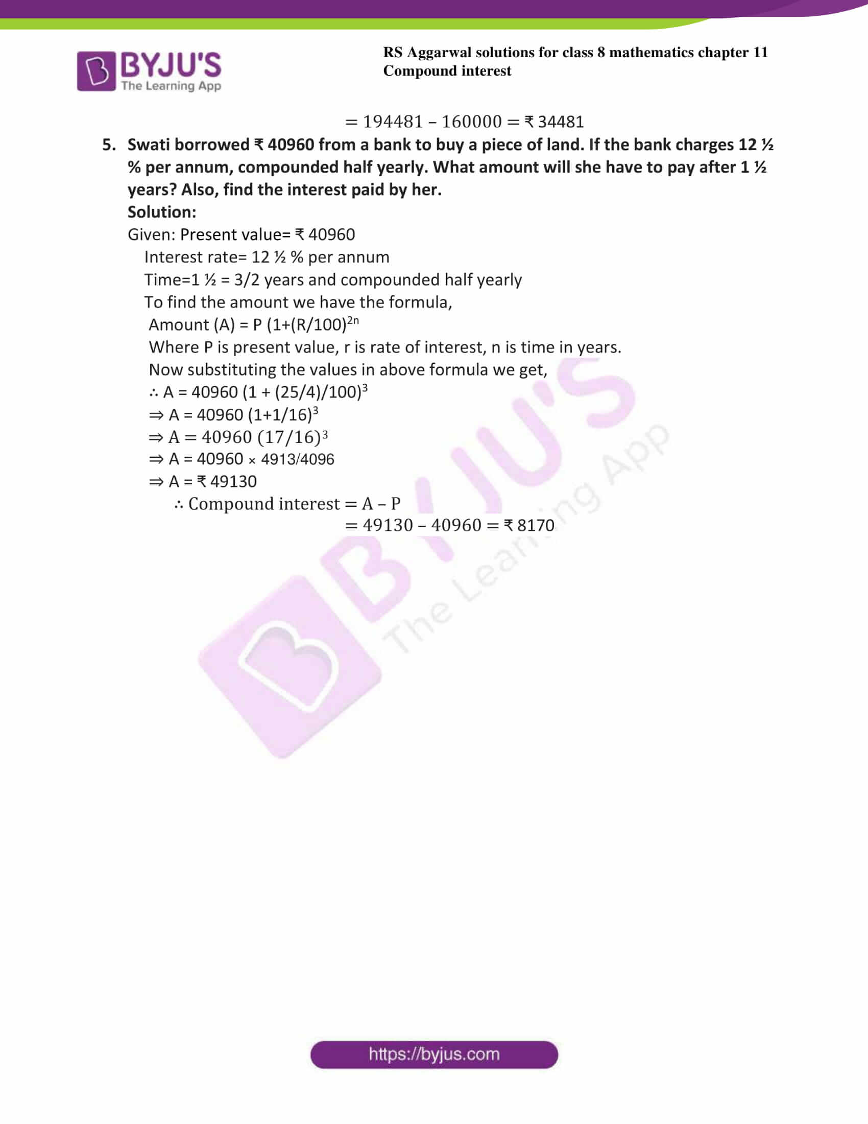 rs aggarwal solutions class 8 maths chapter 11c