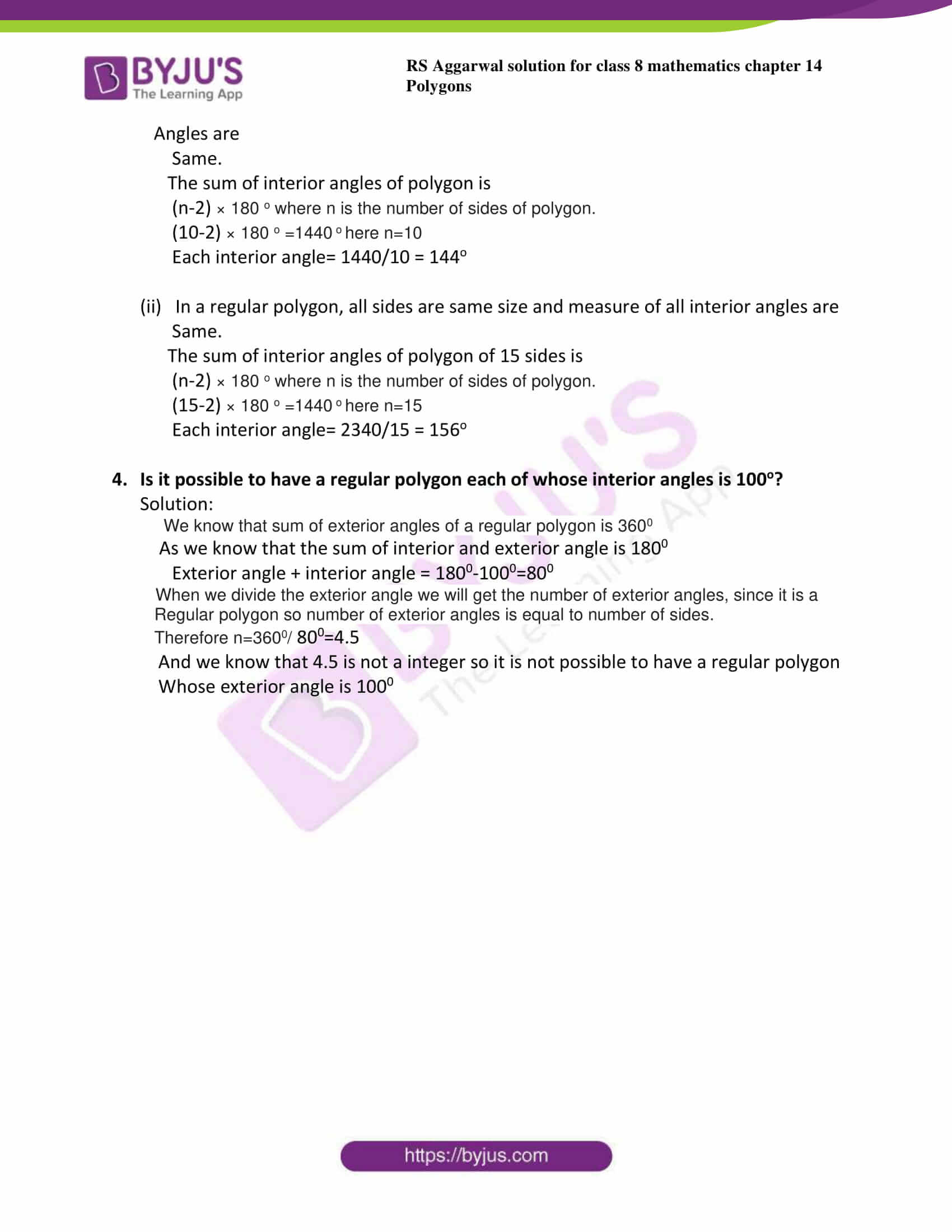 rs aggarwal solutions class 8 maths chapter 14a