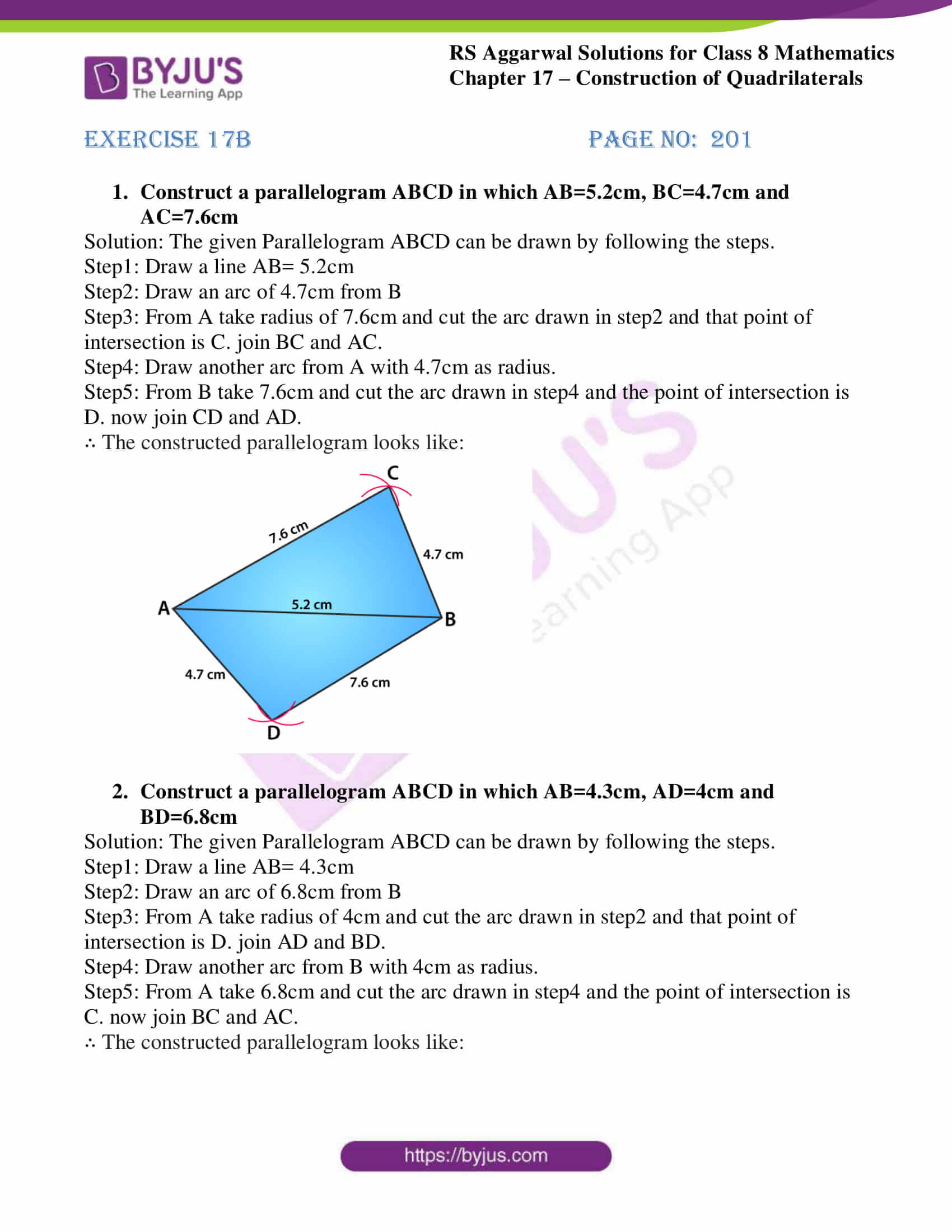 rs aggarwal solutions class 8 maths chapter 17b