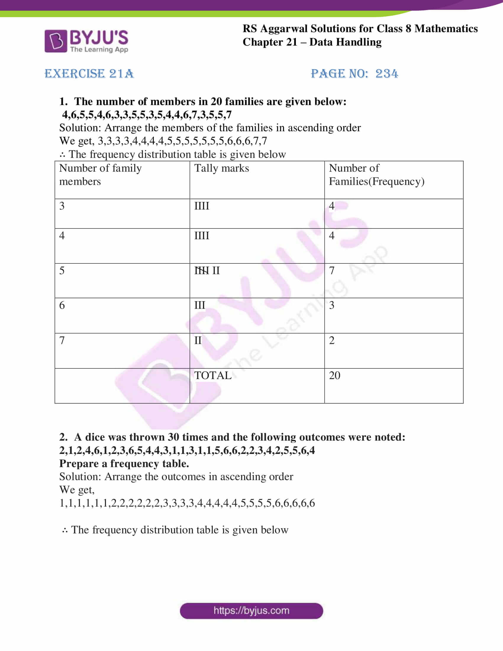 rs aggarwal solutions class 8 maths chapter 21a