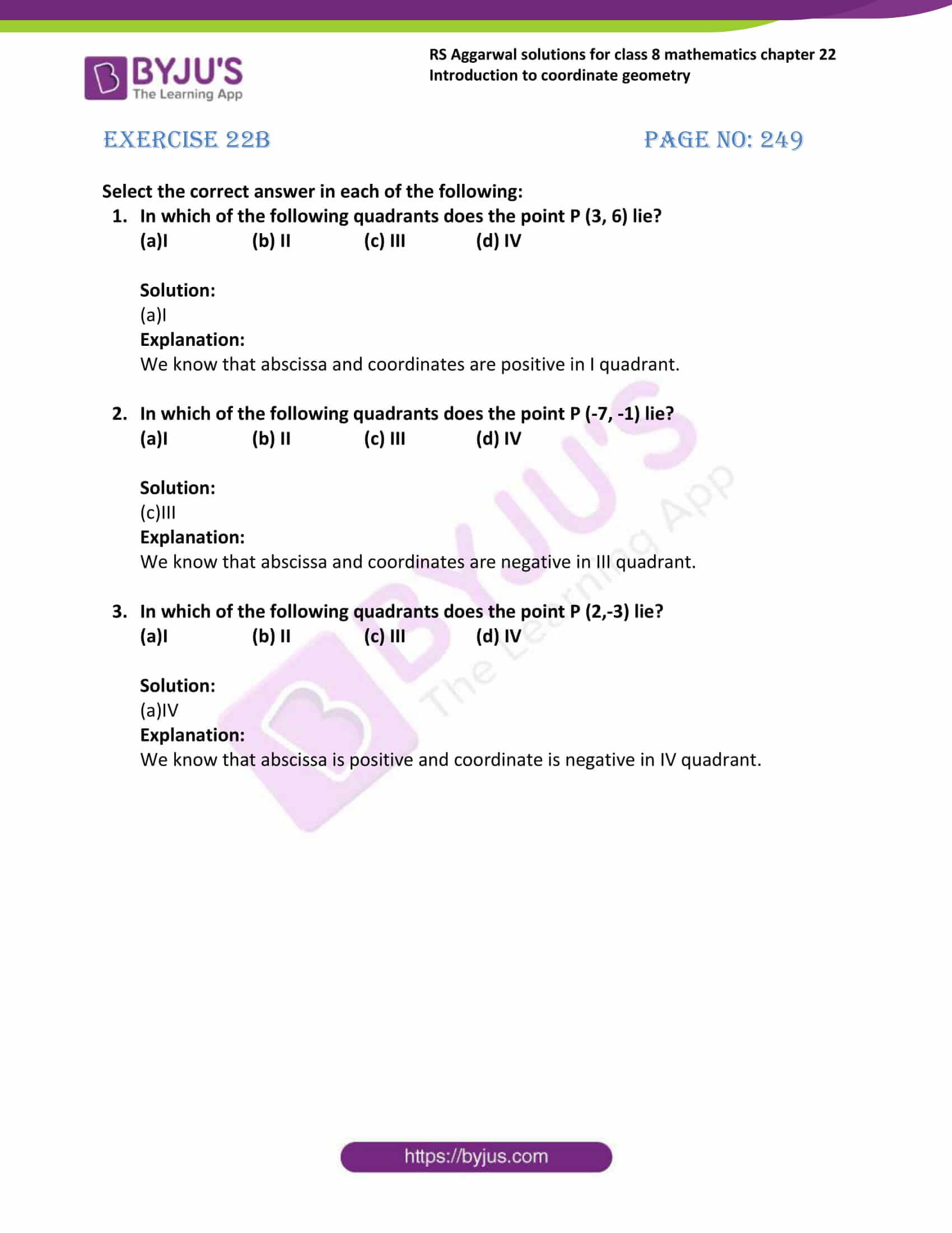 rs aggarwal solutions class 8 maths chapter 22b