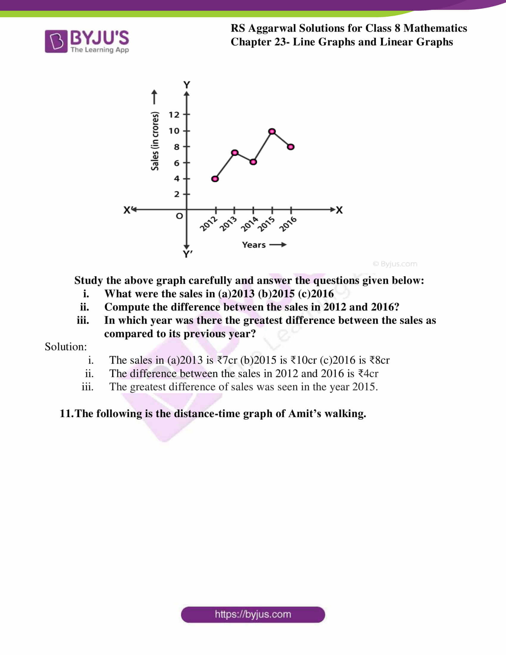 rs aggarwal solutions class 8 maths chapter 23