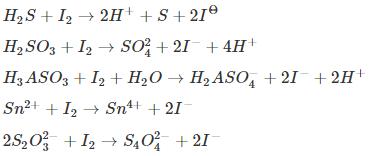 Iodimetry Titration