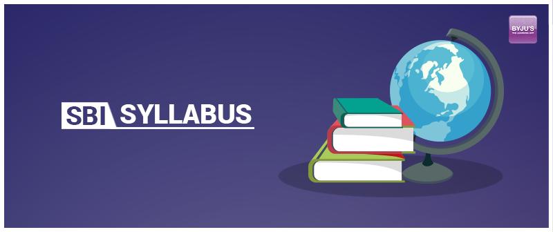 SBI Syllabus 2019