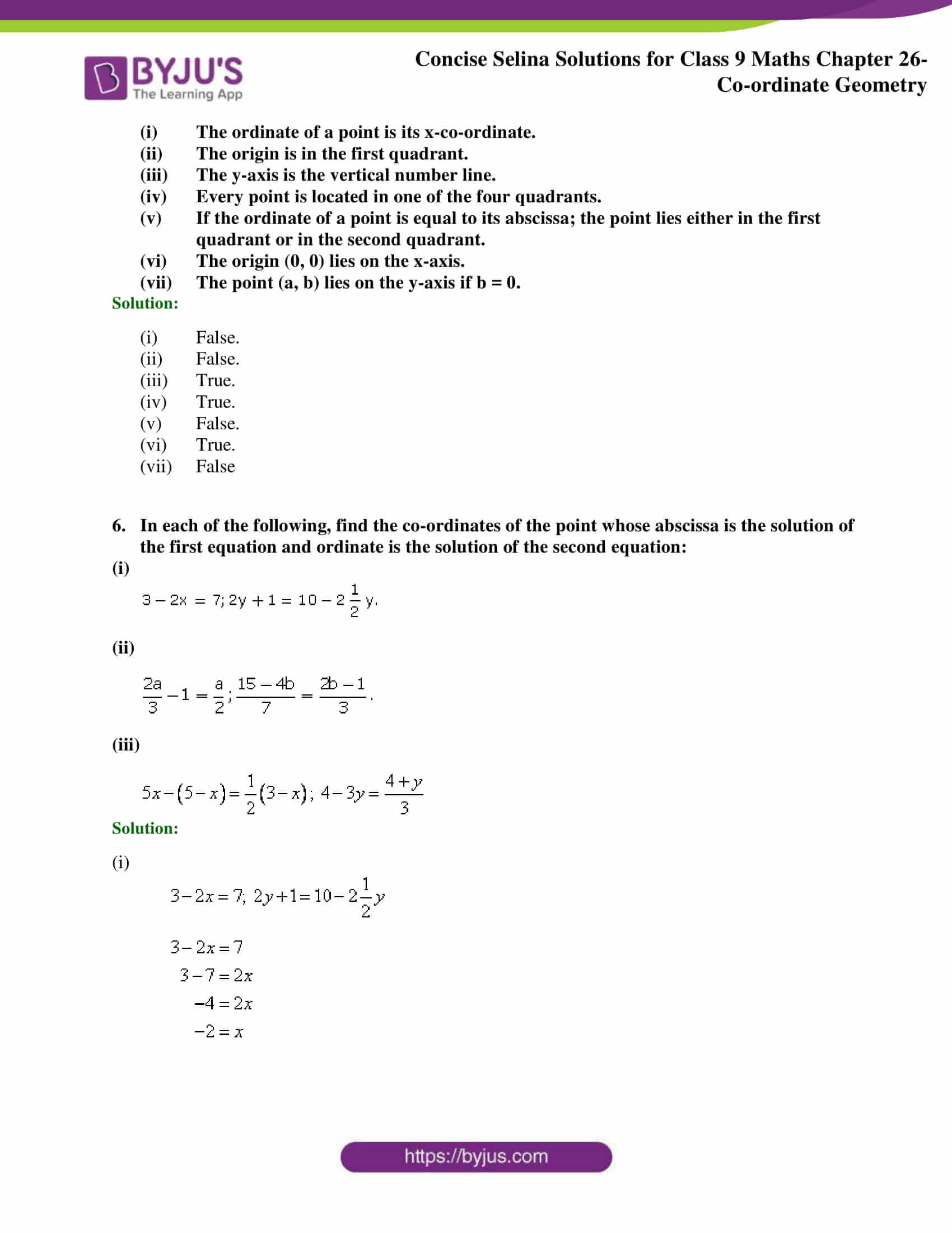 Selina Solutions for Class 9 Maths Chapter 26 part 05