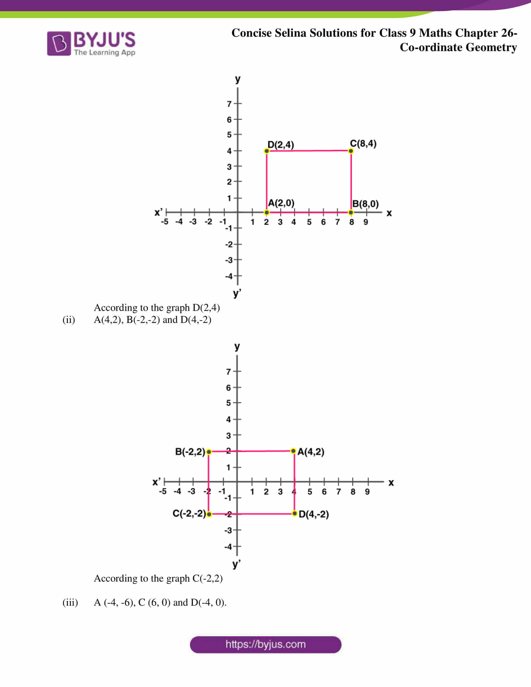 Selina Solutions for Class 9 Maths Chapter 26 part 08