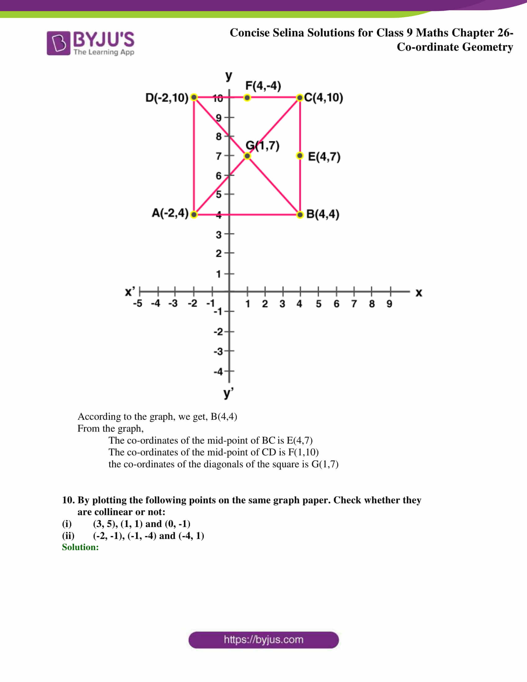 Selina Solutions for Class 9 Maths Chapter 26 part 11