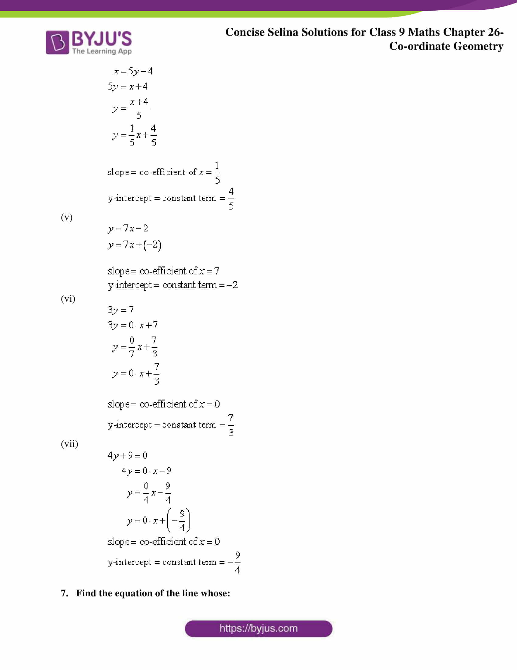 Selina Solutions for Class 9 Maths Chapter 26 part 49
