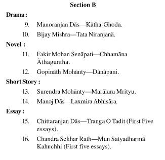UPSC Odia Literature Syllabus- Odia Literature Optional Syllabus Paper-II 2