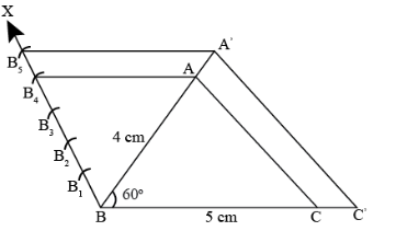 CBSE Board Class 10 Maths Chapter 11 Construction Objective Question 1 Solution Image